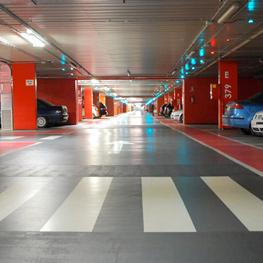 LEVITEC, proyectos parking